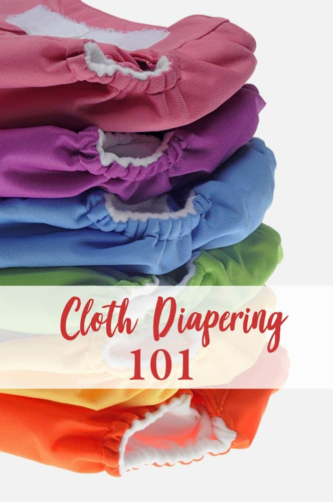 Cloth diapers 101! Learn how to start cloth diapering.