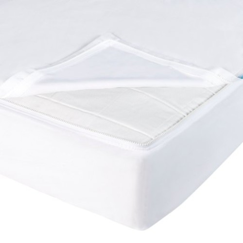 Zipper sheets for crib