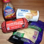 BBQ Biscuit Cups – A Four Ingredient Meal