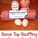 Quick and Easy Meatloaf Made with Stuffing