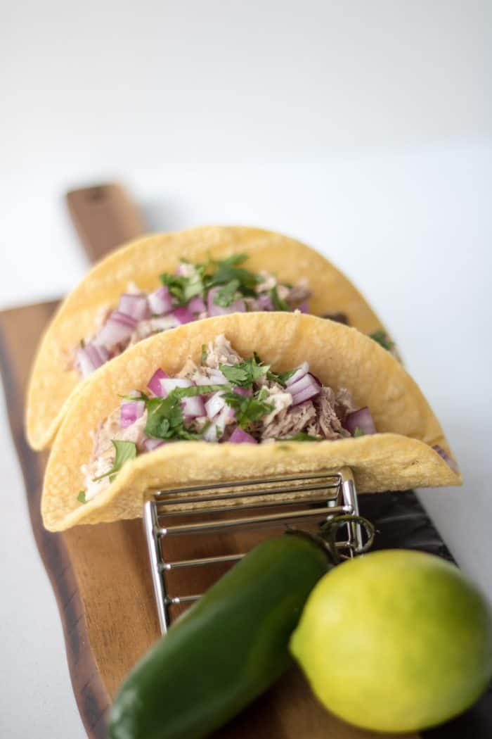 slow cooker pork loin pork tacos