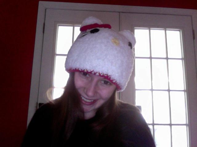 Crochet Hello Kitty Hat Sweet T Makes Three