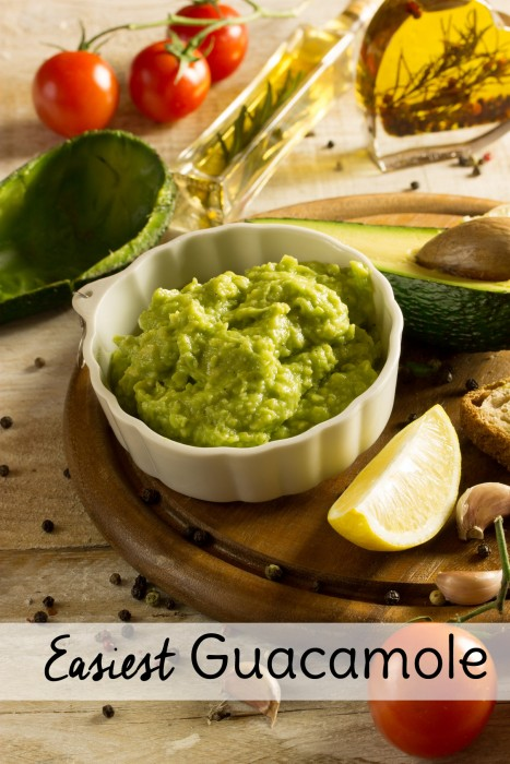 In the search for easy appetizers, you can't beat this easy guacamole recipe. While it makes a great party appetizer, there's no need to wait for a baby shower to make it. Enjoy it for lunch any day!