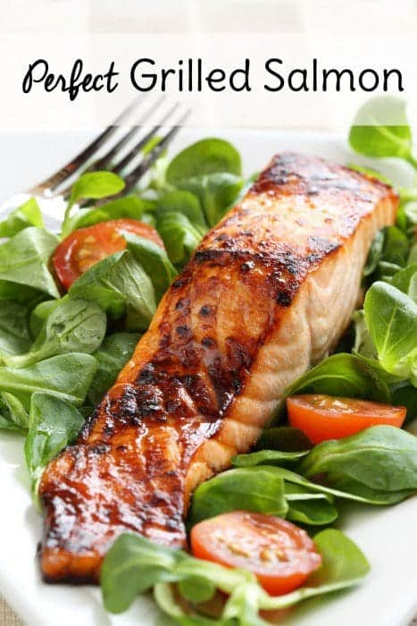 Wondering the secret to how to cook salmon on the grill? Try my easy salmon marinade and learn exactly how long to grill salmon on the grill.