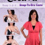 cleava snap to bra cami