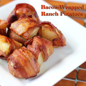 bacon wrapped ranch potatoes