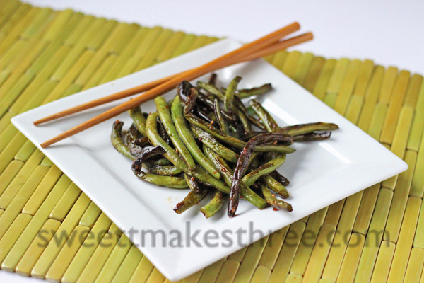 chinese restaurant style green beans
