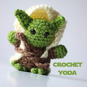 Crochet Patterns Yoda : Crochet Yoda - Sweet T Makes Three