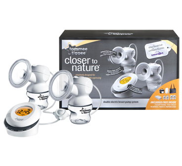 Tommee Tippee Closer To Nature Double Electric Breast Pump