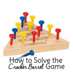 How to Solve the Cracker Barrel Game