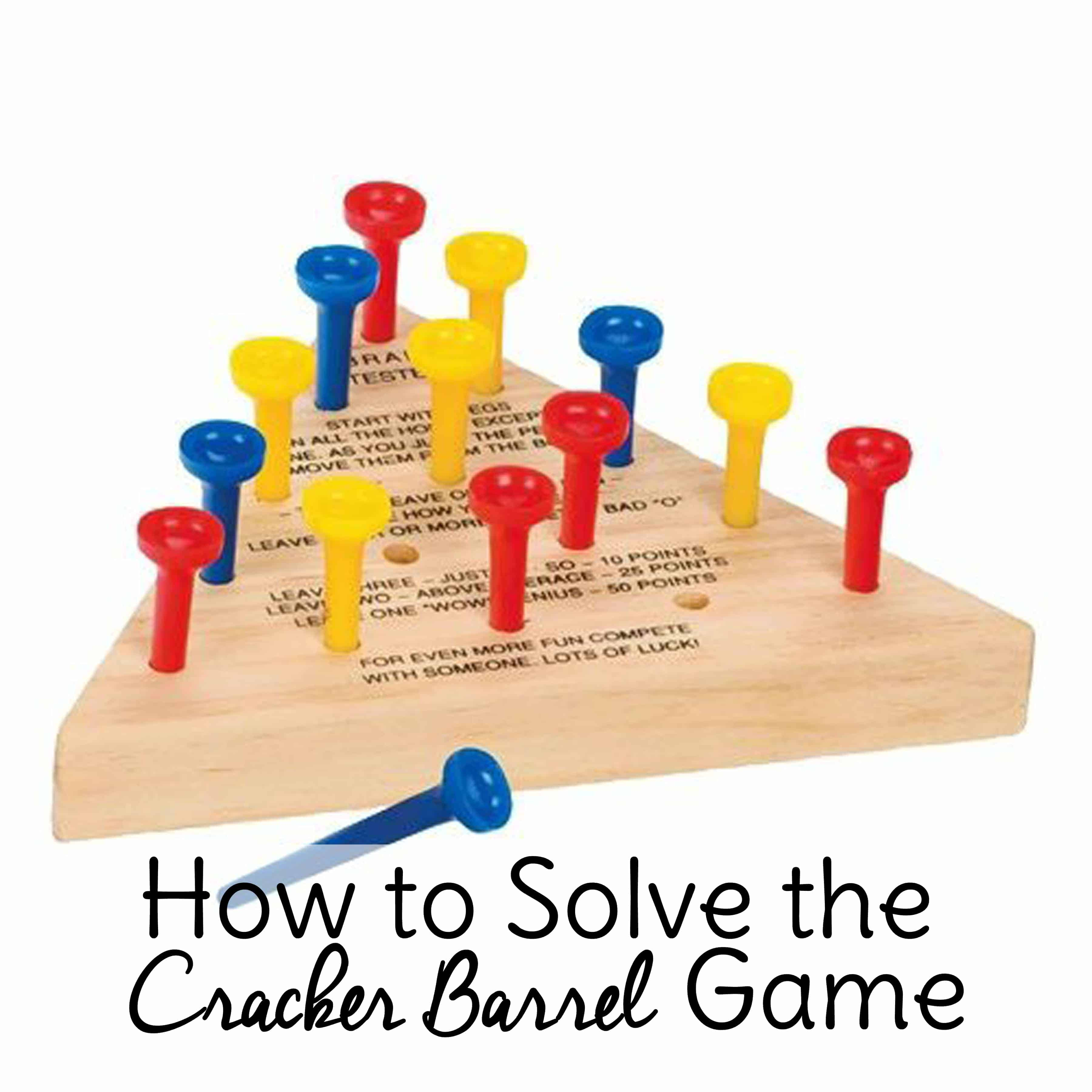 You want so badly to be a genius, but that little triangle peg game keeps reminding you that you're an ignoramous. You are smarter than this peg board game! Promise.