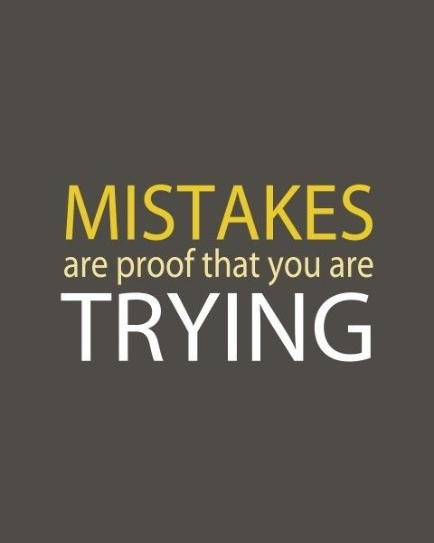 Mistake Quotes: Inspirational Quotes About Mistakes