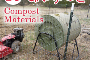 Composting for beginners: 16 Things you didn't know you could compost!
