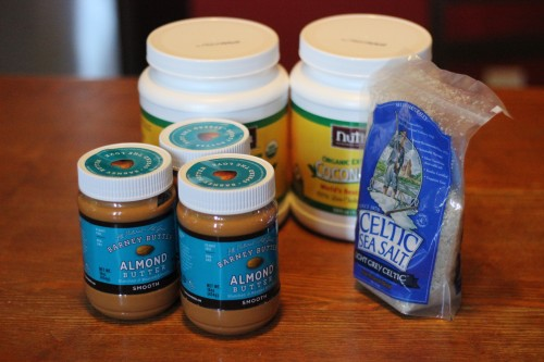 Coconut oil almond butter paleo diet celtic sea salt