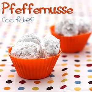 Pfeffernusse Cookies (German Spice Cookies)