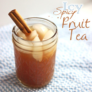 Icy Spicy Fruit Tea