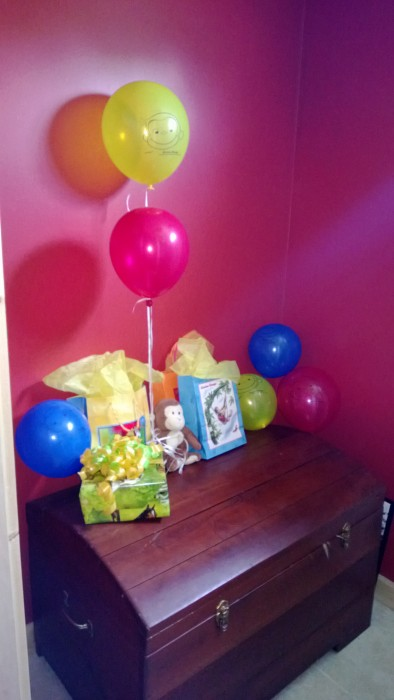 Curious George Birthday Party Gifts