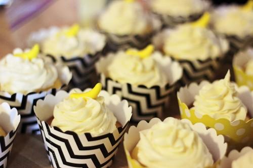 Curious George Birthday Cupcakes Bananas