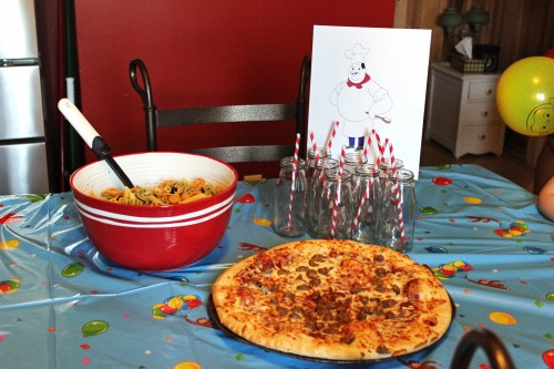 Curious George Birthday Party Food