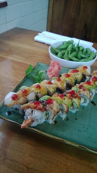 Miso Izakaya sushi rolls