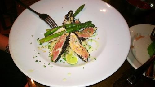 Sashimi Pan Seared Tuna