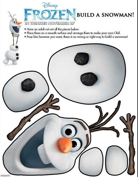 Disney's Frozen Printable Activity Sheets - Sweet T Makes Three