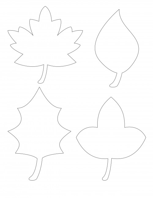 graphic relating to Thanksgiving Cutouts Free Printable named Graude Tree with Cost-free Leaf Printable Adorable T Helps make 3