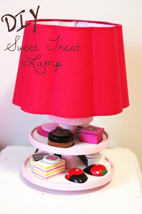 DIY Sweet Treat Lamp