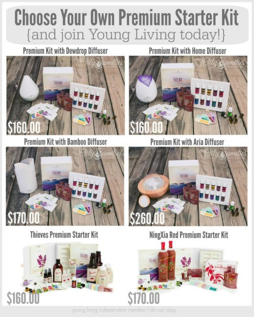 Young Living Sign Up Special Offer Bonus Items Premium Starter Kit Promo