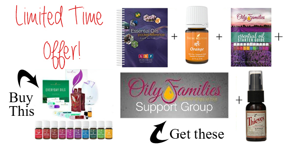 Young Living Essential Oils Premium Starter kit Bonus Items