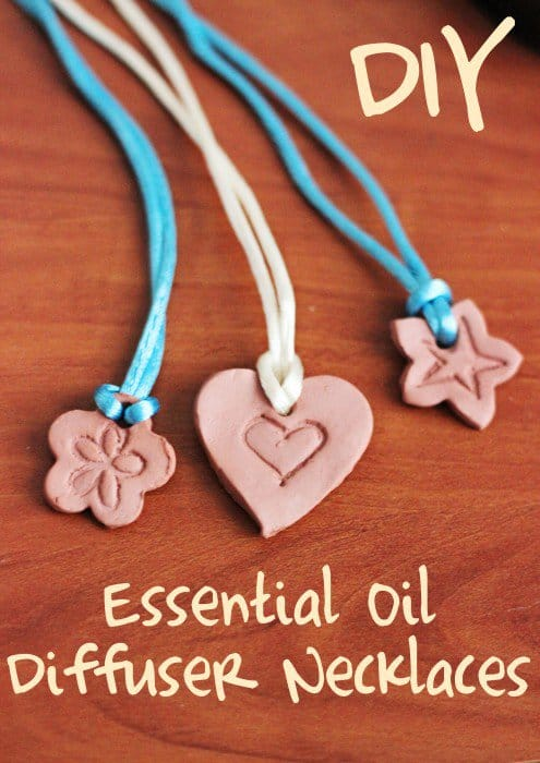 DIY Diffuser Necklace. Make your own clay essential oil diffuser necklaces!