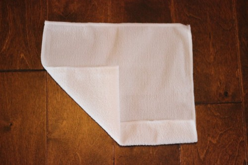 how to fold a towel pig from a washcloth