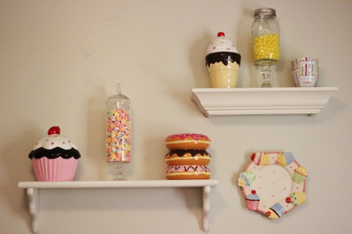 Candy Sweet Treat Bedroom Decor Apothecary Jars