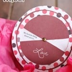 Love Cards for Him: Free Printable Love Wheel