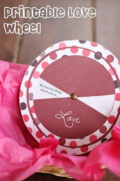 Love Cards For Him Free Printable Love Wheel Sweet T Makes Three