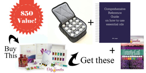 Young Living Sign Up Special Offer Bonus Items Premium Starter Kit Promo