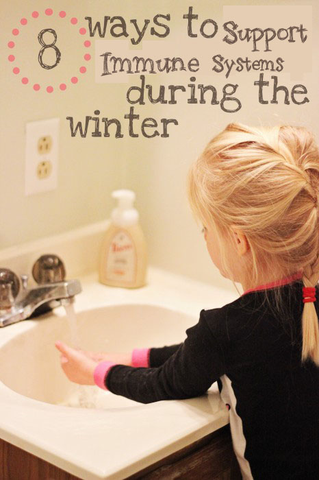 8 ways to keep kids healthy during the winter