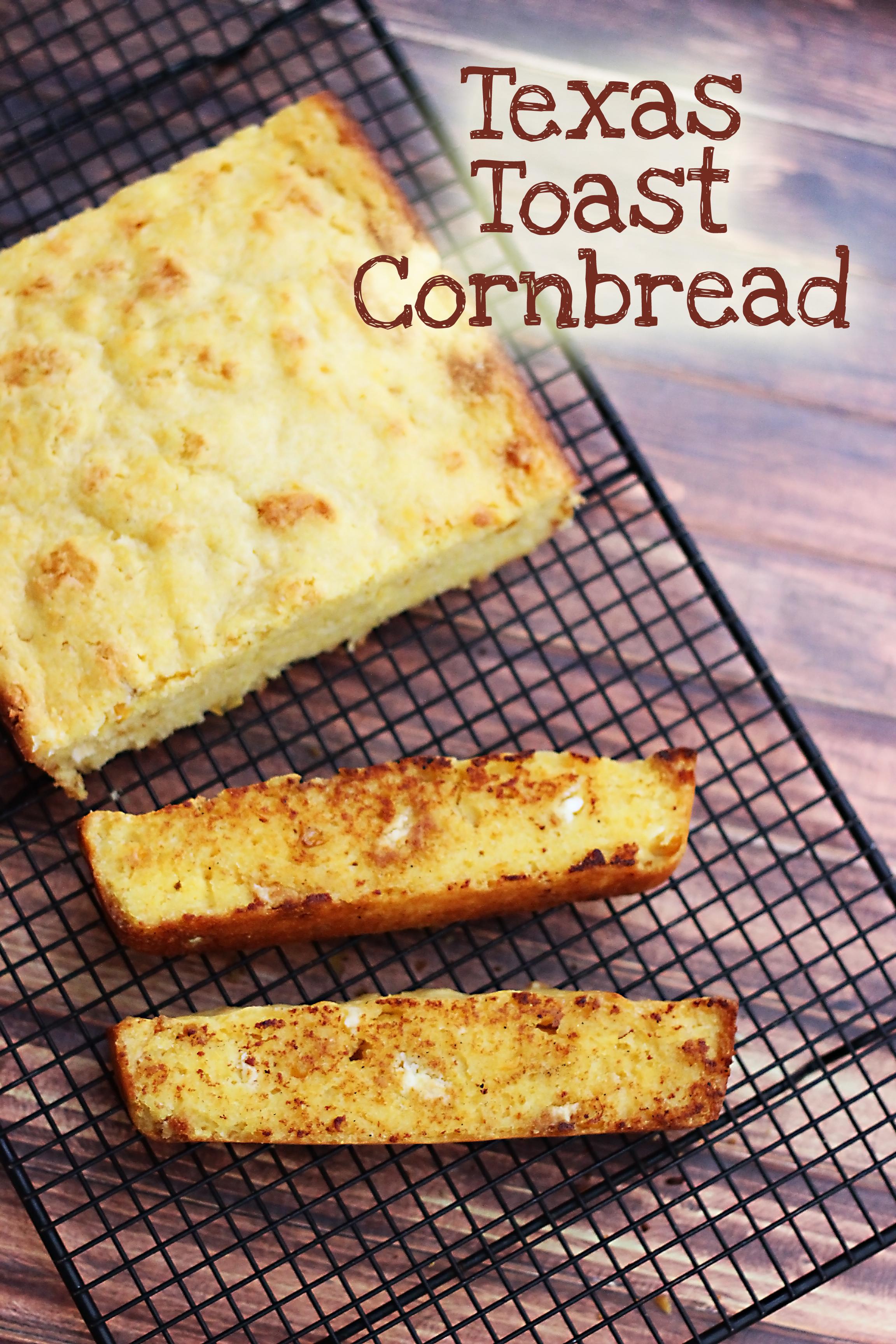 Texas Toast Cornbread Sweet T Makes Three