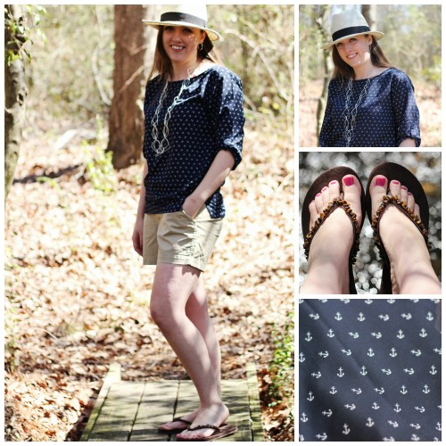 old navy anchor outfit