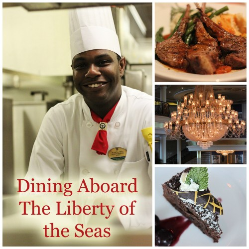 Royal Caribbean Dining Options on the Liberty of the Seas #seastheday