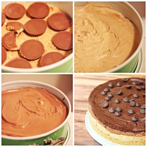 5 layer cheesecake