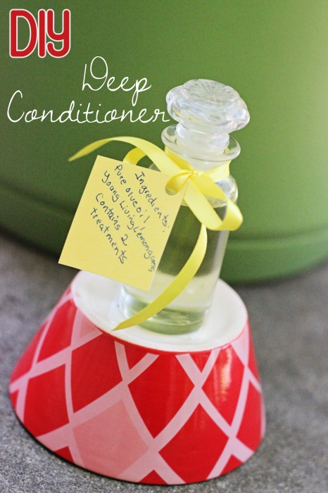 A DIY deep conditioner is a must if you have long hair! I Love the way my long mane feels after using this use this homemade deep conditioner recipe. It's simple and affordable enough to make some to share too. Just find some glass containers and you've got a lovely gift idea for your essential oil-loving, long-haired friends.
