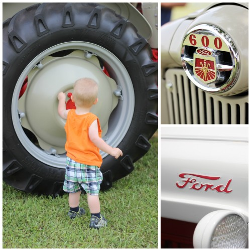 tractor show Collage