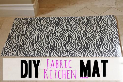 DIY Kitchen Mat | Sweet T Makes Three