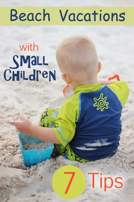 Beach Vacations with Small Children #travel
