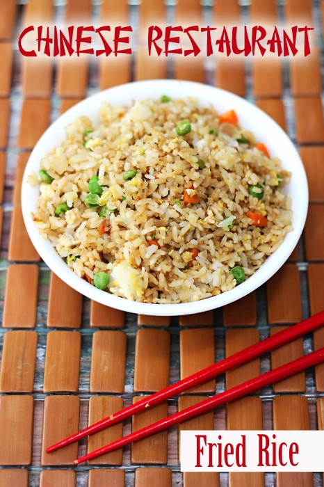 Chinese restaurant fried rice sweet t makes three copycat chinese restaurant fried rice recipe forumfinder Image collections