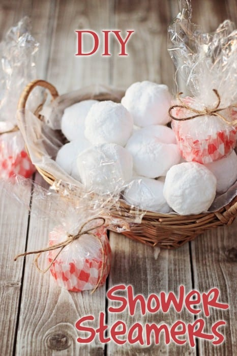 Make your own homemade shower steamers with this DIY shower steamers recipe using essential oils. There's nothing like eucalyptus in the shower! Ahhh...