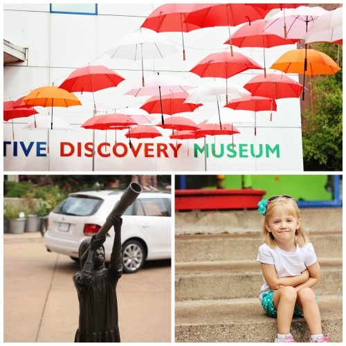 Outside of Creative Discovery Museum