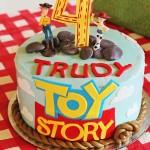 Toy Story Woody and Jessie cake