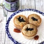 Ginger Pecan Elderberry Muffins